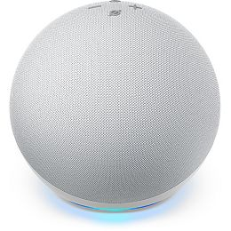 Echo Smart Speaker (4th Gen) Glacier White