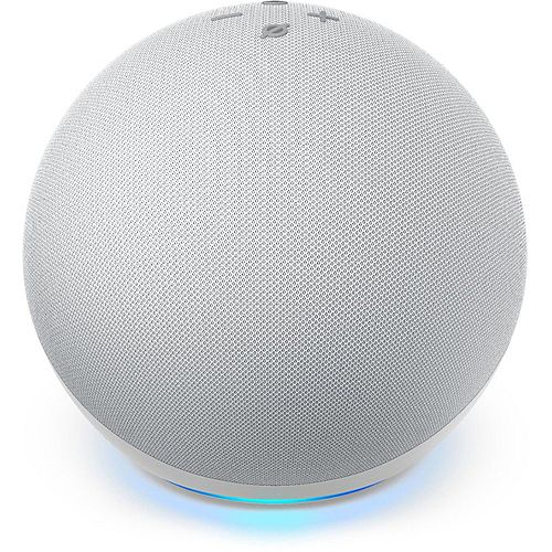 Echo Dot Smart Speaker (4th Gen)  Glacier White