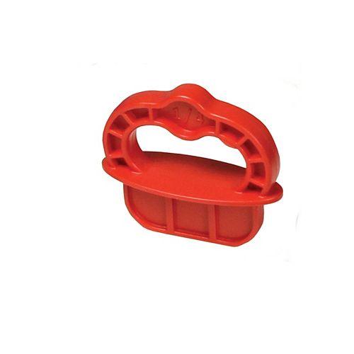 Kreg Deck Jig  Spacer Rings - Red - 1/4 inch - 12 Pk