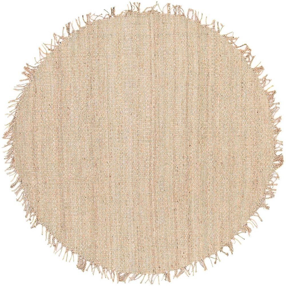 Artistic Weavers Addison Cream 10 ft. x 10 ft. Round Indoor Area Rug