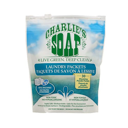 Charlie's Soap Laundry Powder Packets 30