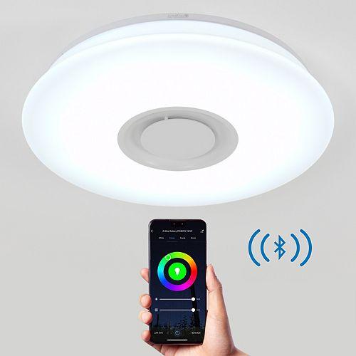 Galaxy RGB Speaker LED integrated Flush Mount
