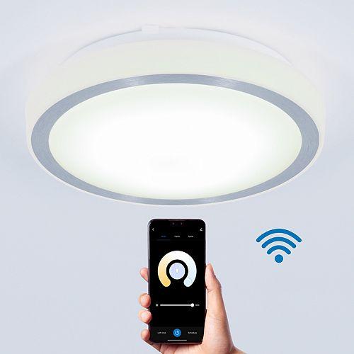 Pluto WIFI LED Integrated Flush Mount