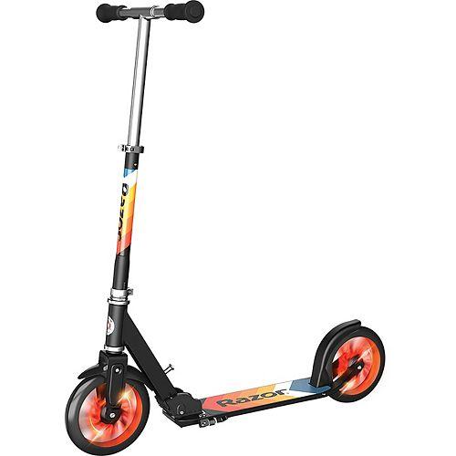 Razor A5 Lux Light-Up Kick Scooter - Orange