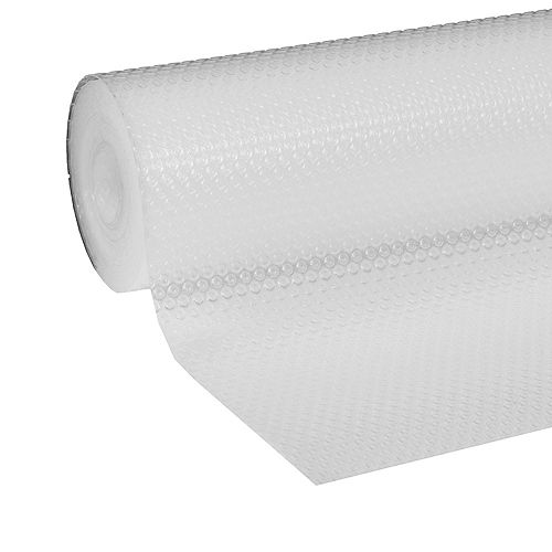 Clear Classic 12-inch x 20 ft. Clear Shelf Liner