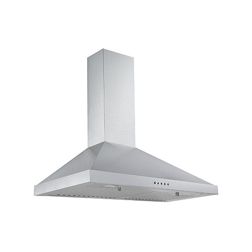 "Aria 30"" Stainless Steel Wall Mount Range Hood - 300 CFM"