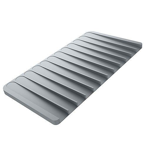 Vaisselle silicone séchage Mat ou pour Trivet de cuisine en gris clair