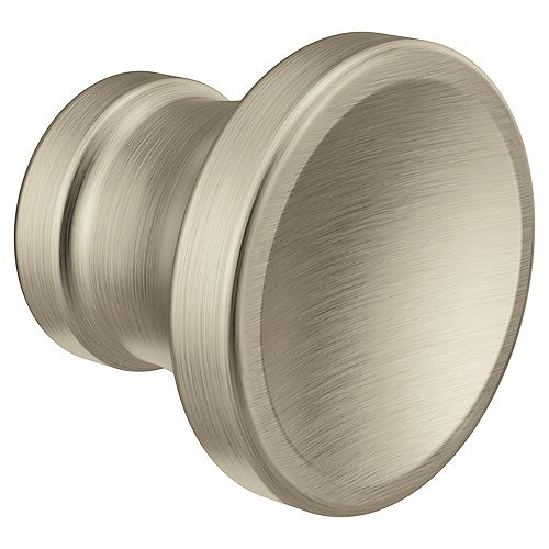 Colinet Traditional Cabinet and Drawer Knob in Brushed Nickel