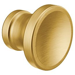 Colinet Traditional Cabinet and Drawer Knob in Brushed Gold