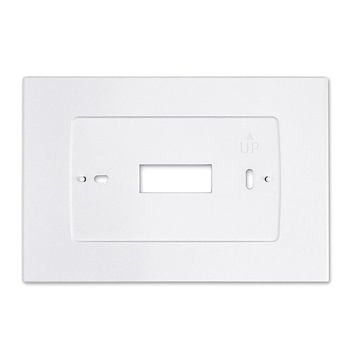Wall Plate for Sensi Touch Smart Thermostat in White