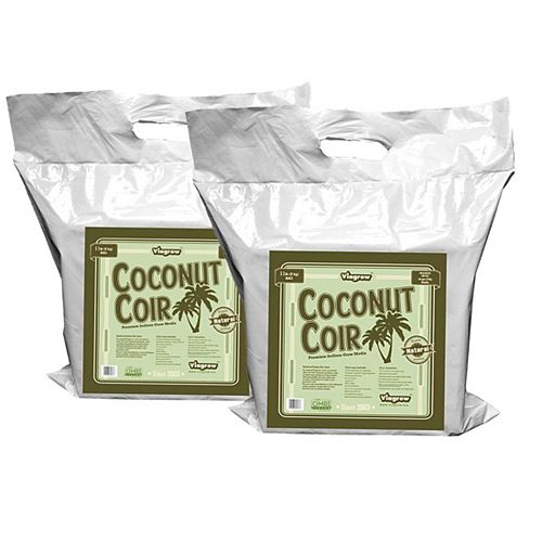 11 lb. Coconut Coir Media 2-pack