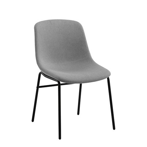 Mid Back Dining Chair in Grey