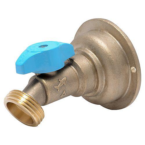 SharkBite-3/4 inch Push-to-Connect x3/4 inch MHT Brass Quarter-Turn No Kink Hose Bibb