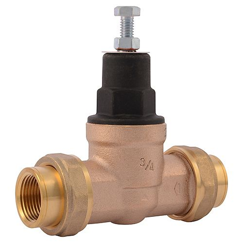 Cash Acme-3/4 inch  EB-45 Double Union x Female Pipe Thread Pressure Regulating Valve