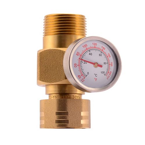 Cash Acme-3/4 inch inch Temperature Gauge for TankBooster