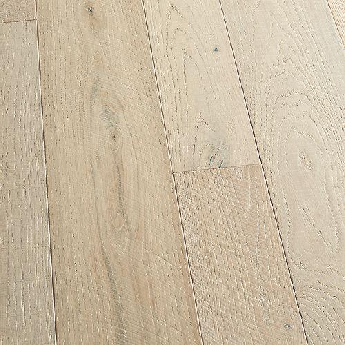 Malibu Wide Plank Sample -French Oak Seacliff Engineered Tongue & Groove Hardwood Flooring, 5-inch x 7 inch