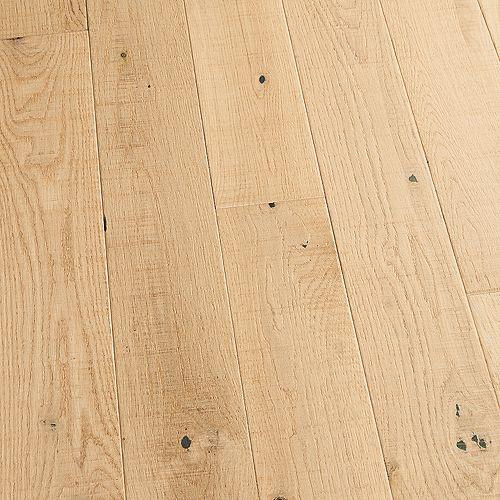 Échantillon  Revêtement de sol en bois franc massif, chêne français Point Reyes, 5 po x 7 po