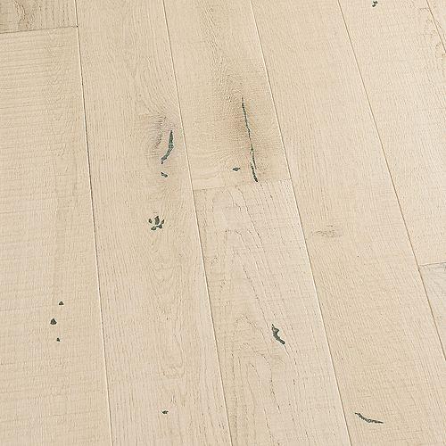 Échantillon  Revêtement de sol en bois franc massif, chêne français Miramar, 5 po x 7 po