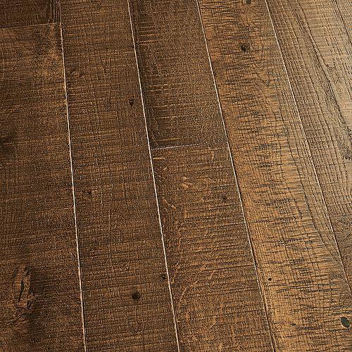 Échantillon  Revêtement de sol en bois franc massif, chêne français Monterey, 5 po x 7 po