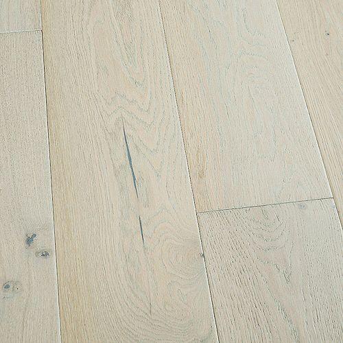 Malibu Wide Plank Sample -French Oak Salt Creek Engineered Tongue & Groove Hardwood Flooring, 5-inch x 7 inch