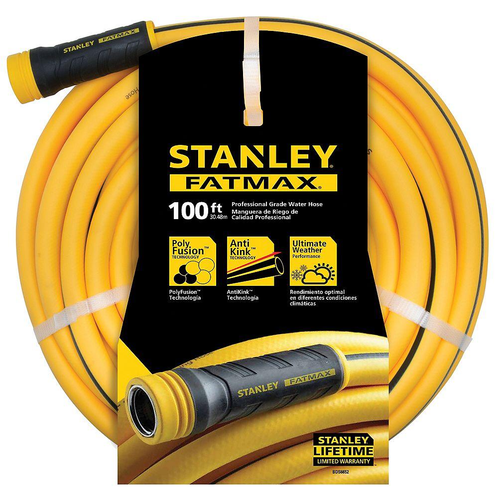 "STANLEY FATMAX 100ft x 5/8"" Professional Grade Water Hose"