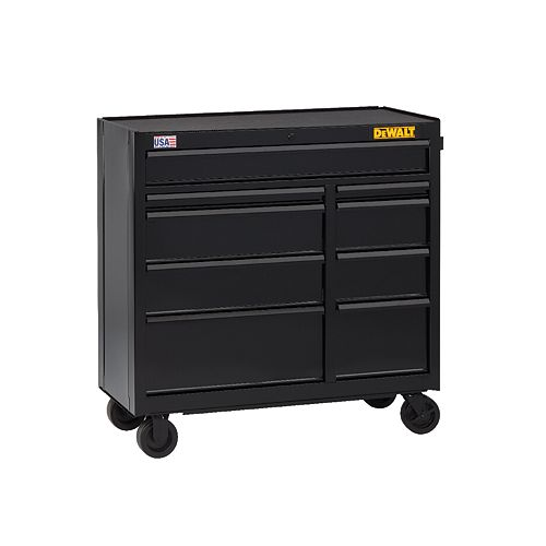 41-inch WIDE 9-DRAWER ROLLING TOOL CABINET
