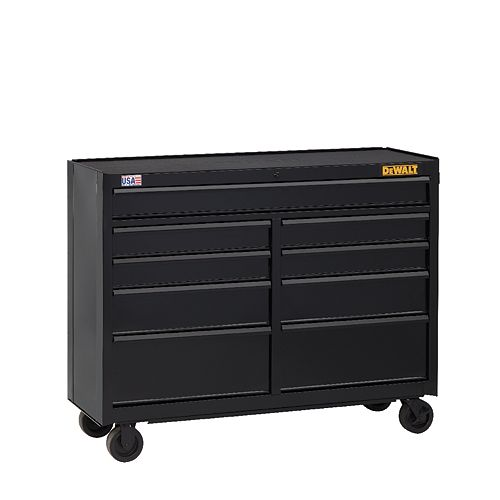 52-inch WIDE 9-DRAWER ROLLING TOOL CABINET