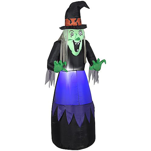 5 ft. Ugly Witch Halloween Decoration