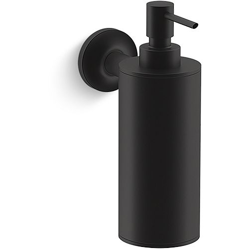 Purist Wall Mounted Soap/Lotion Dispenser in Matte Black