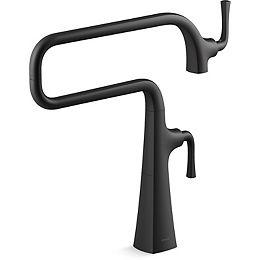 Graze Deck-mount pot filler faucet