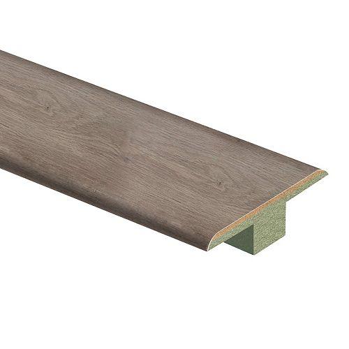 Whiskey Oak .4375 inch x 1.75 inch x 72 inch Laminate T-Molding