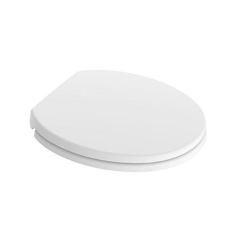 Round Toilet Seat in White
