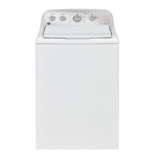 Laveuse à chargement par le haut de 5,0 pi3 en blanc avec Cycle SaniFresh