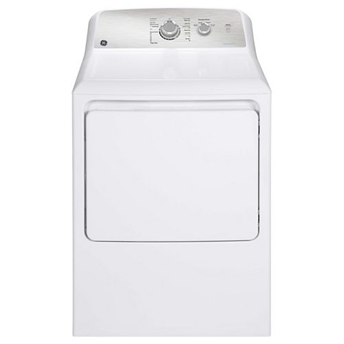 7.2 Cu.Ft. Top Load Gas Dryer in White with SaniFresh Cycle