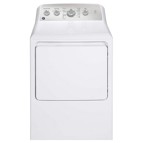 7.2 Cu.Ft. Top Load Electric Dryer in  White with SaniFresh Cycle