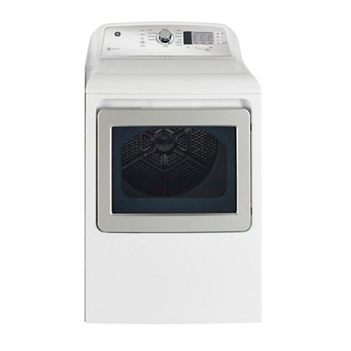 7.4 Cu.Ft. Top Load Electric Dryer in White with SaniFresh Cycle