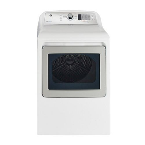 7.4 Cu.Ft. Top Load Gas Dryer in White  with SaniFresh Cycle