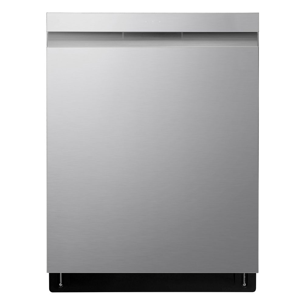 LG Electronics Top Control Dishwasher with 3rd Rack and QuadWash in Fingerprint Resistant Stainless Steel with Stainless Steel Tub, 44 dBA - ENERGY STAR®