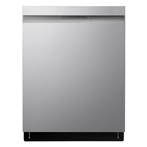 Top Control Dishwasher with 3rd Rack and QuadWash in Fingerprint Resistant Stainless Steel with Stainless Steel Tub, 44 dBA - ENERGY STAR®