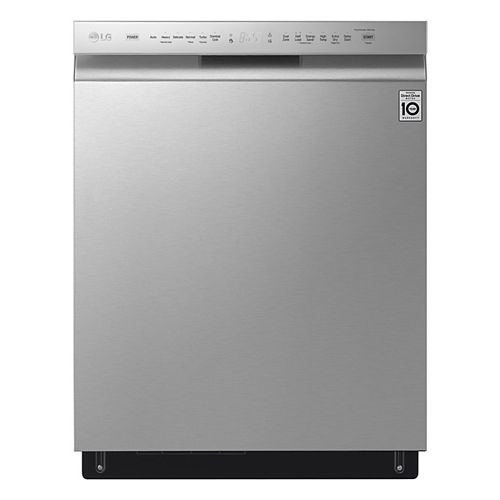 Front Control Dishwasher with 3rd Rack and QuadWash® in Fingerprint Resistant Stainless Steel with Stainless Steel Tub, 48 dBA - ENERGY STAR®