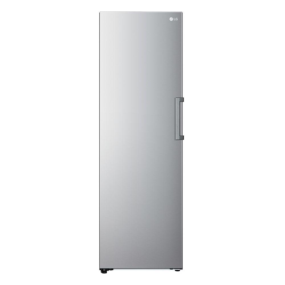LG Electronics 11.4 cu. ft. Single Door Freezer in Stainless Steel - ENERGY STAR®