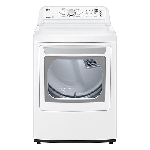 7.3 cu.ft. Electric Dryer with Sensor Dry in White - ENERGY STAR®
