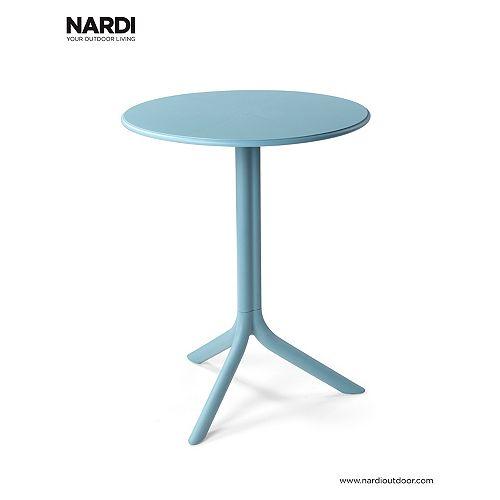 Nardi Spritz Adjustable Bistro Table - Celeste