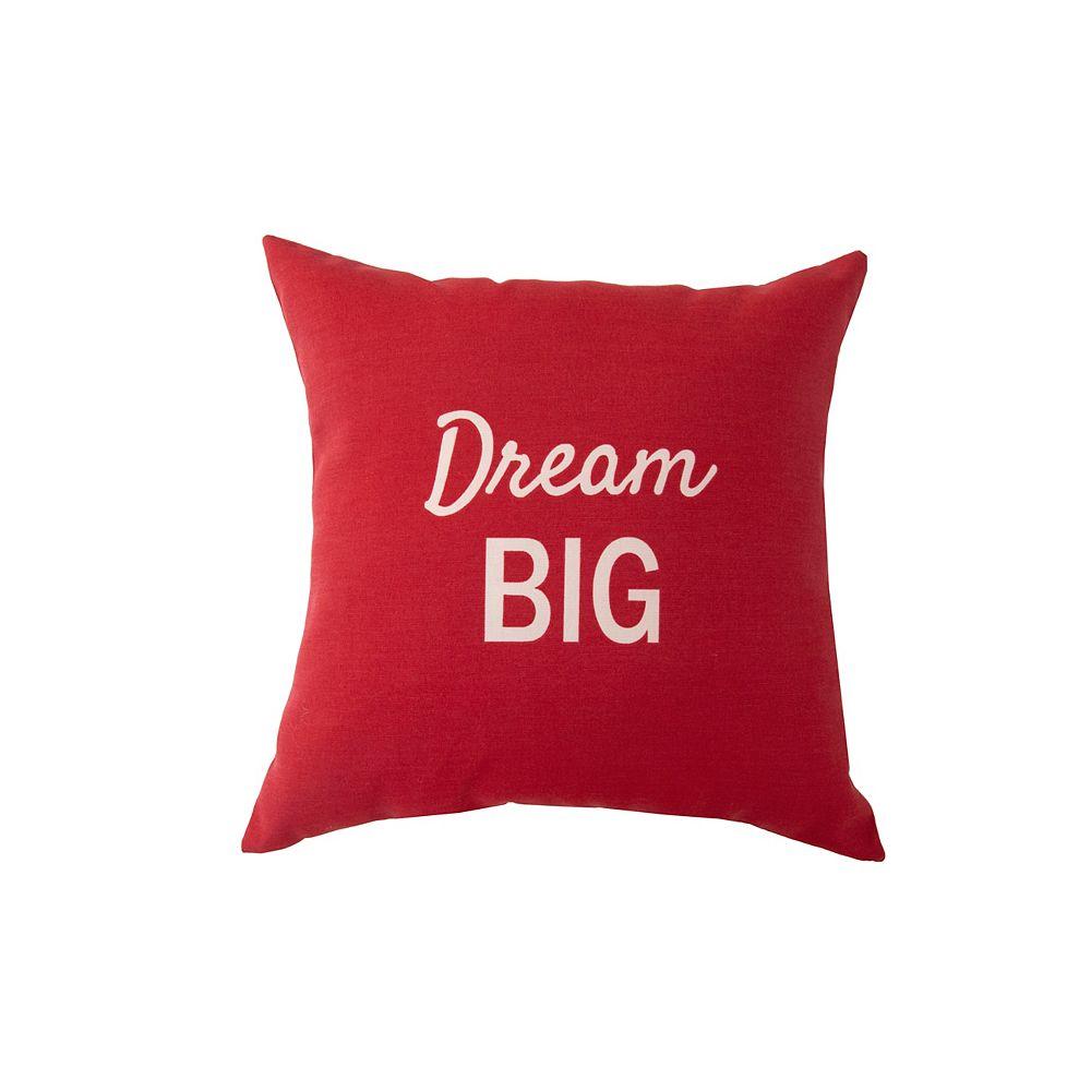 Bozanto Inc. Coussin d'appoint - Dream Big