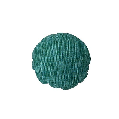 Coussin d'appoint teal