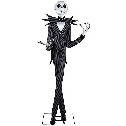 The Nightmare Before Christmas Premium 6 ft. Animated Jack Skellington Halloween Decoration