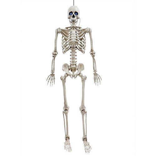 5 ft. Skeleton with Digital Eyes Halloween Decoration
