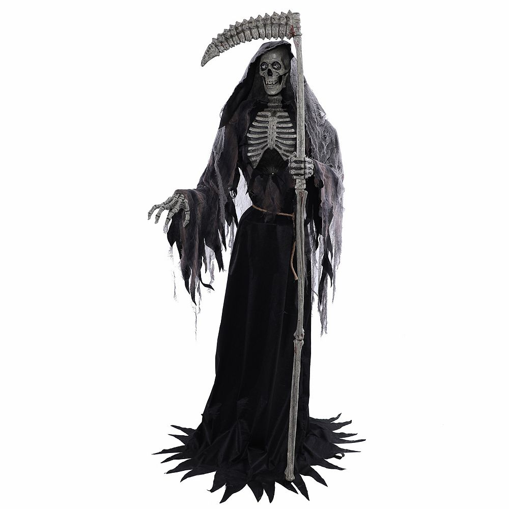 Home Accents Holiday 7 ft. Inferno Reaper Halloween Decoration