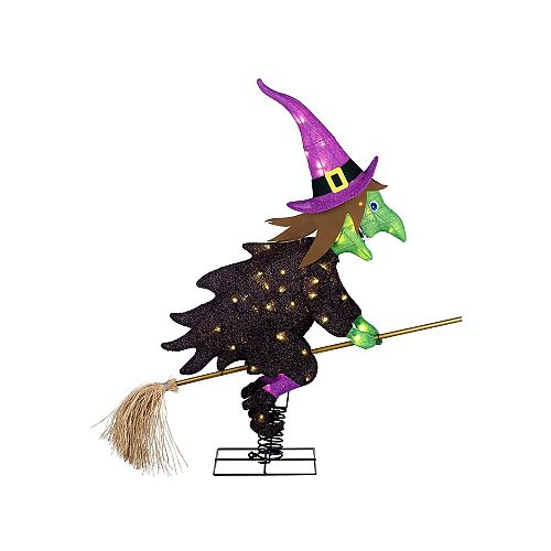3.5 ft. LED-Lit Witch Halloween Decoration