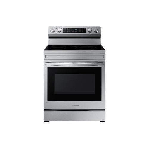 6.3 cu.ft. Freestanding Electric Range with True Convection Oven and Air Fry in Stainless Steel